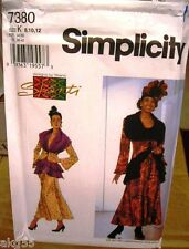 Simplicity 7380 Misses Jacket Skirt Pattern By Shanti MANY SIZES OOP VINTAGE