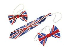UNION JACK JUBILEE AND OLYMPICS PARTY BOW TIE FANCY DRESS