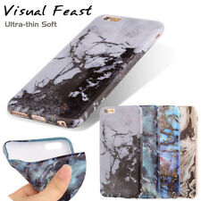 New Marble Patterned Visual Case Cover For iPhone 6 6s Plus Soft Gel Back Skin