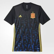 SPAIN ESPANA NATIONAL TEAM PRE MATCH JERSEY ADIDAS AC4561 ADIZERO UEFA EURO 2016