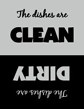 Clean/Dirty Dishwasher Magnet - Dishes Are Clean - 3 styles to choose from