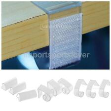 3Pcs Plastic Clear Table Skirting Cloth Cover Clips Clamp Wedding Picnics Party