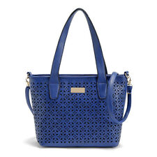 Trendy Hollow-out Handbag Women Tote Bag Daily Carry Shoulder Bag with Strap