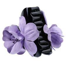 Girls Cloth Flower Jaw Clip Barrette Hair Claw Hair Accessories