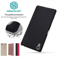 Real Nillkin Matte Frosted Shield Shell Case Cover + Screen Protector For Sony