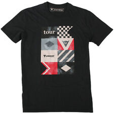 Dainese Tour Motorcycle Casual Wear T-Shirt - Black