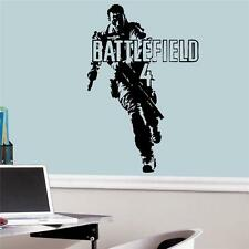 Battlefield 4 - Wall Decal Art Sticker boy's bedroom playroom hall