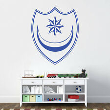 Portsmouth Badge - Wall Decal Art Stickers football sport bedroom playroom