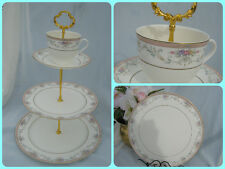 3 TIER WEDDING CAKE STAND 1 TIER Spring Crest by Christopher Stuart CHINA