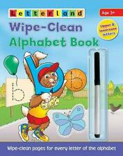 Clever Cats Wipe Clean Alphabet Book by Lisa Holt (English) Paperback Book Free