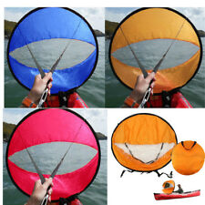 "42"" Portable Downwind Paddle Kayak Wind Sail for Canoe Boat Easy Setup -3 Color"