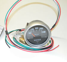 "Autometer Sport-Comp Electrical Water Temperature Gauge 2 5/8"" P/N 3532 EXC Cond"