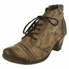 Ladies Remonte Heeled Ankle Boots - D8771