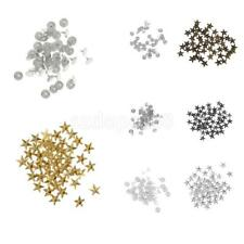 50 Sets Star Studs Punk Spike Studs Spots Rivet DIY Bags Belt Shoes Leathercraft