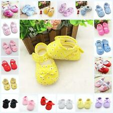 Baby Toddler Shoes Infant Floral Canvas Sneaker Crib Barefoot Toe Blooms Shoes