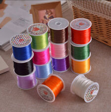 10m Nylon Beading Colorful Crystal Line Stretch Elastic Beading Cord Wire