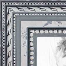 ArtToFrames 1 Inch Ornate SIlver Wood Picture Poster Frame ATF-80801