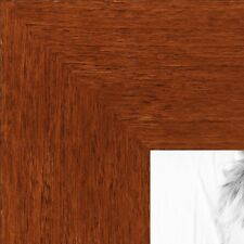 ArtToFrames 1.375 Inch Walnut Stain on Beach Wood Picture Poster Frame ATF-81792