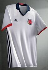 New With Tag Colombia Home Soccer White Jersey 2016 sz S M L XL