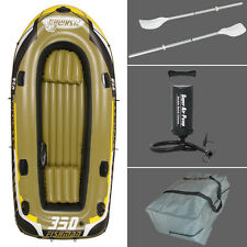 Family Fishing Boat 3 Person Fishing Boat Inflatable Boat Kayak