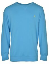POLO RALPH LAUREN Big & Tall Terry Cloth Sweatshirt Liquid Blue Crewneck $125