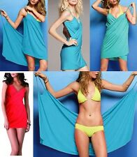 Super Sexy Deep V-Neck Swimwear Bikini Cover Up Open-Back Beach Multi-way Wear