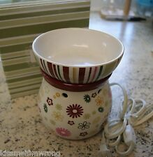 Shabby Chic Scentsy warmer burner scented wax retired discontinued Rare HTF