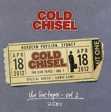 Vol. 1-live Tapes: Hordern Pavilion April 18 2012 - Cold Chisel New & Sealed CD-