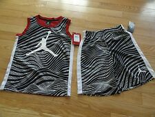 Air Jordan Boy's Shorts Shirt Set Outfit Athletic Jumpman Size 5 or 6 NWT