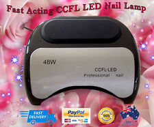 Nail Dryer 48W Lamp LED UV Polish Gel Curing Manicure & Pedicure Nail Art Timer