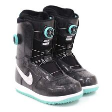 Womens NIKE SB Zoom FORCE 1 ZF1 x BOA Snowboard BOOTS Shoes Black SIZE 8