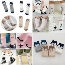 Newborn Kids Girl Boy Animal Pattern Socks Knee High Stockings Baby Socks 0-4T
