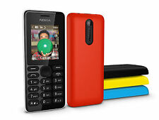 Nokia 108 GSM Bluetooth Dual Sim FM Radio English/Russian/Arabic keyboard phone