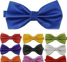 Big Boy's Polyester Bow Ties - Choose From 12 Colors