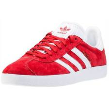 adidas Gazelle Womens Trainers Red White New Shoes
