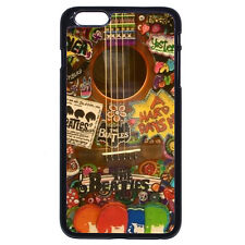 Hippie Beatles Guitar Music Case Cover For Apple iPhone iPod & Samsung Galaxy