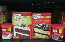Duncan Hines ~ Classic or Signature Cake Mix w/Frosting