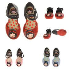 Kids Baby Girls Shoes Children Princess Flat Sandals Jelly Shoes Rain Shoes NEW