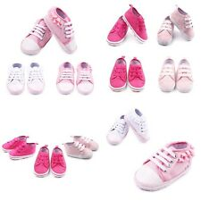 Infants Toddler Baby Girl Cute Soft Sole Crib Shoes Sneaker Newborn to 12 Months