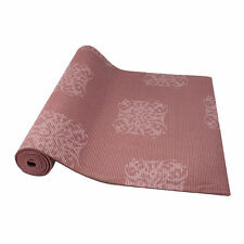 Fitness EM 5mm Printed Yoga/Pilates Mat with Clutch