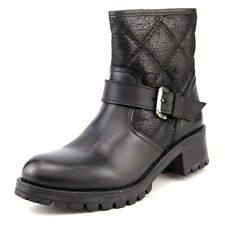 Bronx Flor Ene Women Round Toe Leather Lug Sole Fur Lined Made IN Portugal Boot