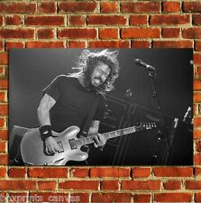 DAVE GROHL FOO FIGHTERS NIRVANA POSTER ART WALL PRINT PICTURE LARGE A4 A3 A2