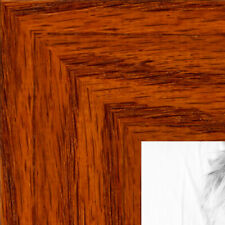 ArtToFrames 1.5 Inch Honey Stain on Oak Wood Picture Poster Frame 80206 LG