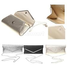 Metal Edges Wedding Clutch Bag Bridal One-Shoulder-Aslant Purse Handbag
