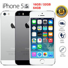"Apple iPhone 5S 16GB LTE GSM 100% Original ""Factory Unlocked"" Gold/Silver/Gray"