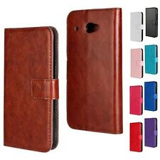Luxury PU Leather Magnetic Flip Wallet Case Cover Card Holder for HTC Desire 601