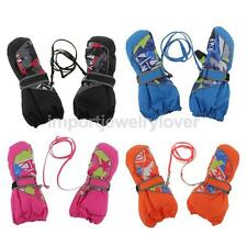 Children Winter Snow Ski Skiing Cycling Warm Waterproof Windproof Gloves/Mittens