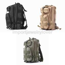 25L Waterproof Outdoor Hike Camping Bag Army Military Tactical Rucksack Backpack