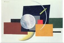 Poster Print Wall Art entitled Suprematist Composition 6, 1921