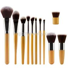 11x Makeup Brushes Eyeshadow Eyeshadow Eyeliner Lip Cosmetic Blending Brush Set